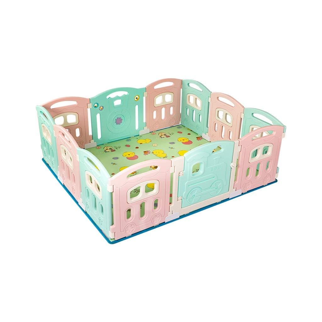 LIUFS-フェンス Foldable子供の遊びの塀のゲームの活動の中心の保証6か月以上のための屋内塀のおもちゃ (サイズ さいず さいず : 12 12 pieces+crawling mat) pieces+crawling 12 pieces+crawling mat B07MBX2GZ8, シンヤクドー:fa61ba95 --- bennynews.com