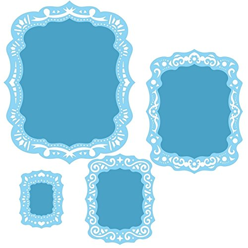 Spellbinders S4-464 Nestabilities Labels Thirty-Nine Decorative Elements Etched/Wafer Thin Dies