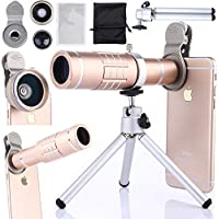 4 in 1 HD Camera Lens Kit Smartphone,foreaya Phone Camera...