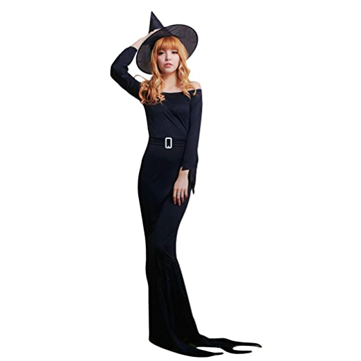 Amazon Hter Womens Sweet Party Halloween Black Ghosts Witch