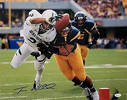 866275c016c Image Unavailable. Image not available for. Color: Terrance Williams  Autographed Signed Baylor Bears Football ...