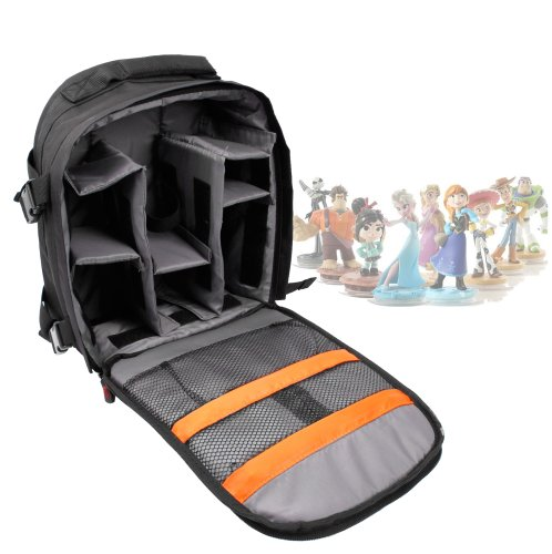 DURAGADGET Deluxe Storage Bag/Carrying Holder Backpack For Disney Infinity Character Figures ()