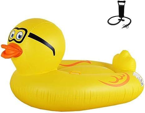 Creativa fila flotante Agua Inflable Super Amarillo Pato Fila ...
