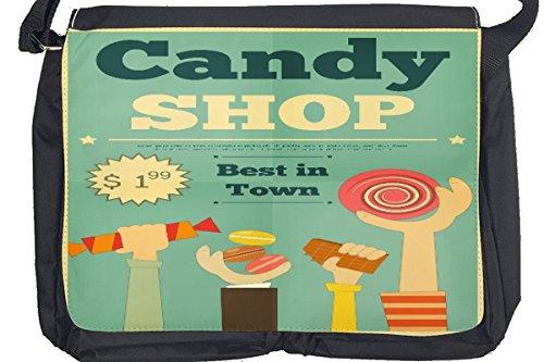Borsa Tracolla Arredamento Cucina negozio di caramelle Stampato