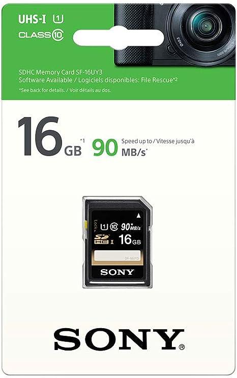 Sony Sf16u Class6 16gb Sdhc Speicherkarte Mit Uhs Computer Zubehör
