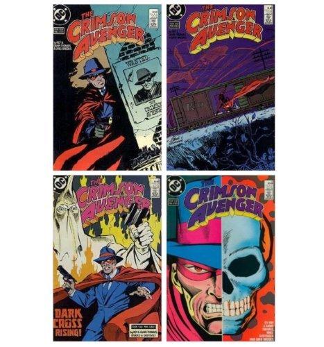 [Crimson Avenger 1-4 (Four Issue Mini-Series) [DC Comics]] (Batman Costume Vigilante)