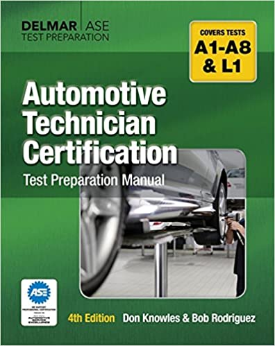 automotive technician certification test preparation manual don