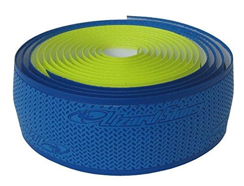 Lizard Skins DSP 2.5mm Dual Handlebar Tape - COBALT/NEON