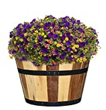 Classic Home and Garden 5/800/3 Wood Barrel Set