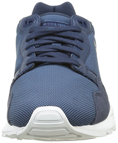 Le Coq Sportif Lcs R900 Poke, Zapatillas Unisex Adulto Azul (Dress Blue/Real TealDress Blue/Real Teal)
