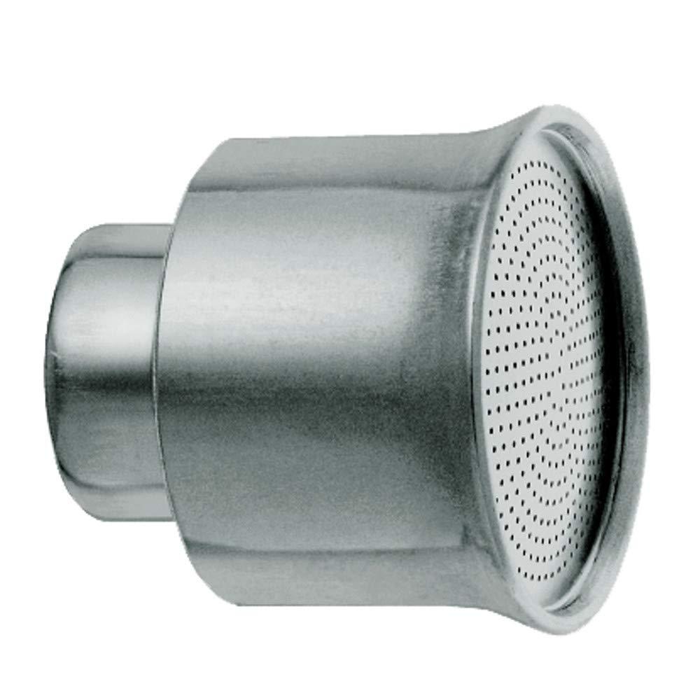 Soft Rain IG g 3//4/Pulgadas LM Orificio 0.7/mm Placa 51/mm GEKA 399lmsb Cabeza de riego 18/x 8/x 13/cm Plata
