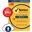 Norton Security Deluxe 5 Device 15 Month (Download Code)