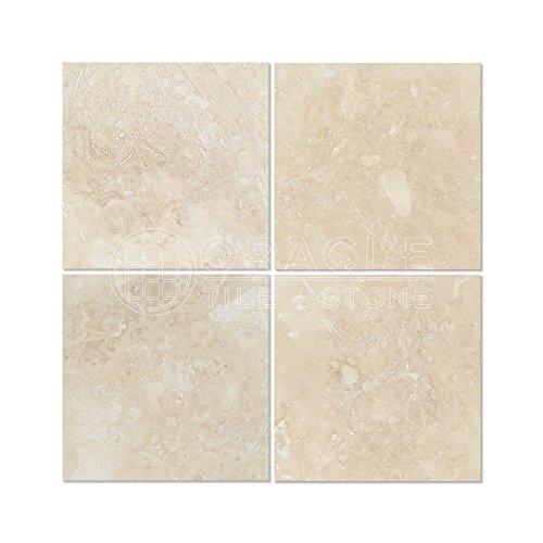 (Ivory (Light) Travertine 6 X 6 Field Tile, Filled & Honed)