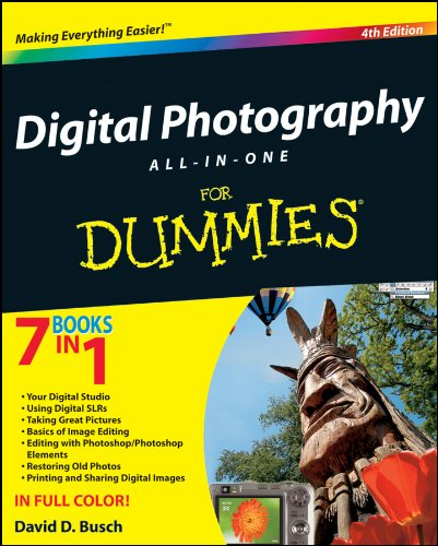 Digital Photography All-in-One Desk Reference For Dummies
