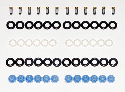 Bosch inyector reconstruir Kit Juntas Pivote filtros V12 0280150 Turbonoz