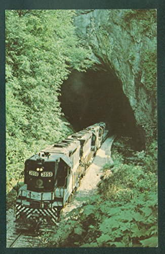 (Southern Railway Freight Train Hopper Cars Coal Mines Virginia Railroad Tunnel)