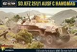Sd.kfz 251 1 Ausf C Hanomag German Halftrack Miniature