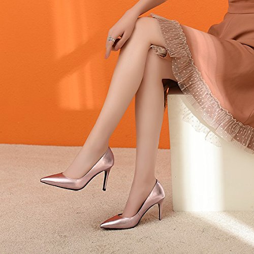 Hauts Peu Unie Profonds Escarpins Partie Chaussures Stilettos Mariage Pink Talons De à à Chaussures Womens De Couleur Robe Talons pxnF0P0tw