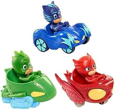 PJ Masks Juguetes 6 Pcs Figuras de dibujos animados