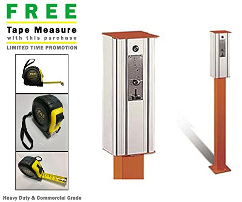 LAN60 Token Operated Exit Control Parking System & Includes A Free Heavy Duty FAS Tape Measure (Part# FAS-TMPROMO18)