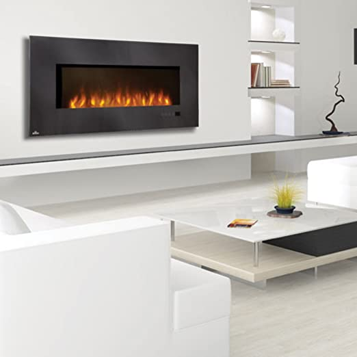 Amazon Com Napoleon 48 Linear Wall Mount Electric Fireplace