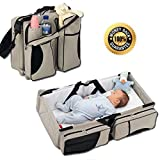Diaper Bags - By Boxum Baby - Stylish 3 in 1 Multi-Functional - Travel...