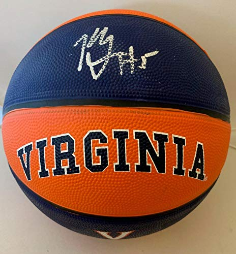 Kyle Guy signed Virginia Cavaliers Full Size Logo Basketball Ball 2019 Champs - Autographed College ()