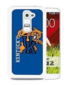 Popular LG G2 Case, Beautiful Designed Case With kentucky wildcats White LG G2 Cover