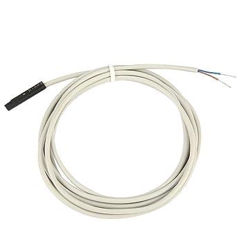 Cilindro magnético Sensor electrónico Enfoque de proximidad inductivo Sensor Detector de interruptor Compatible para CDU,