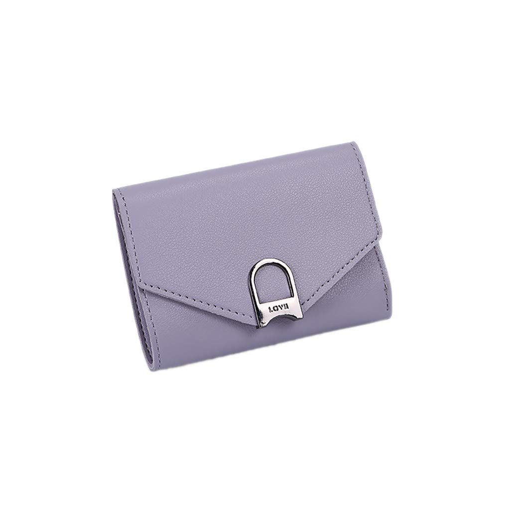 263e20c94625 Amazon.com: Hattfart Women's Blocking Real Leather Wallet Clutch ...