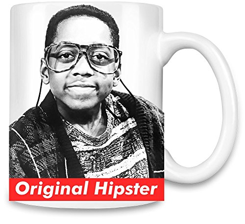 Orginal Hipster Steve Urkel Swag Hype Unique Coffee Mug | 11Oz| High Quality Ceramic Cup| The Best Way To Surprise Everyone On Your Special Day| Custom Mugs By Bang - Urkel Hipster Steve