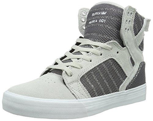 Supra Men's Skytop Grey Violet Two-Tone/White Athletic Shoe
