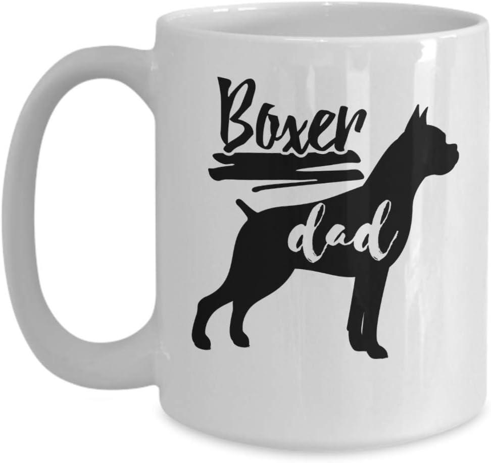 Awesome Gift Mug For Boxer Dog Fathers Boxer DAD Mug Imprint America