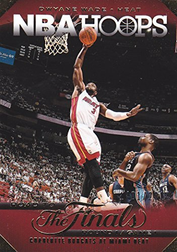 Dwayne Wade Hoops - 2014-15 NBA HOOPS DWAYNE WADE ROAD TO THE FINALS /2014