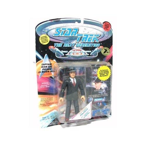 Star Trek The Next Generation Captain Jean Luc Picard as Dixon Hill 4 inch Action Figure ()