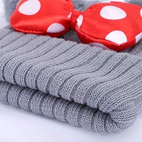 DYHQQ Pack de 2 Sombreros de Gorros con Forro de vellón cálido ...