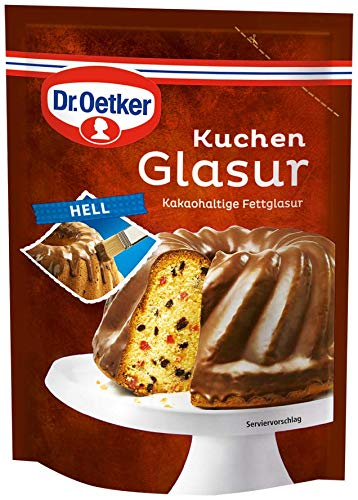 Dr Oetker Hell Kuchen Glasur 125g/4.4oz Milk Chocolate Icing … (Icing Chocolate Mix)