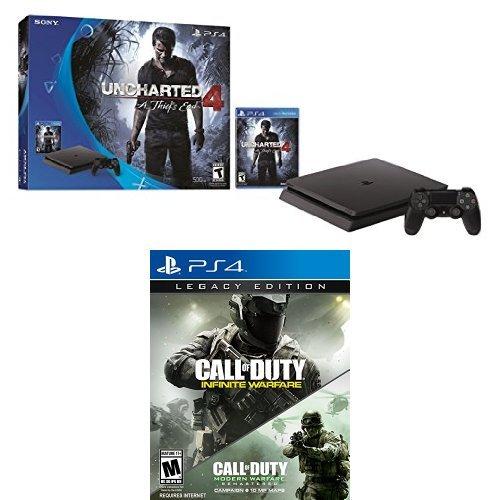 PlayStation Uncharted Bundle Infinite Warfare Legacy