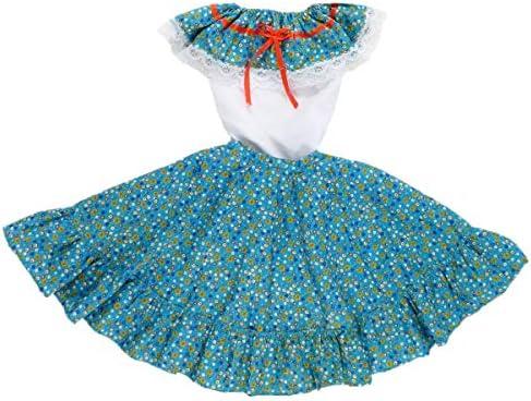 Adelita embroidered cotton blouse