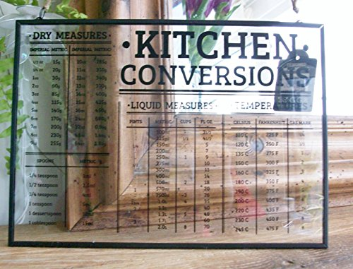 Kitchen Conversions Table Hanging Glass