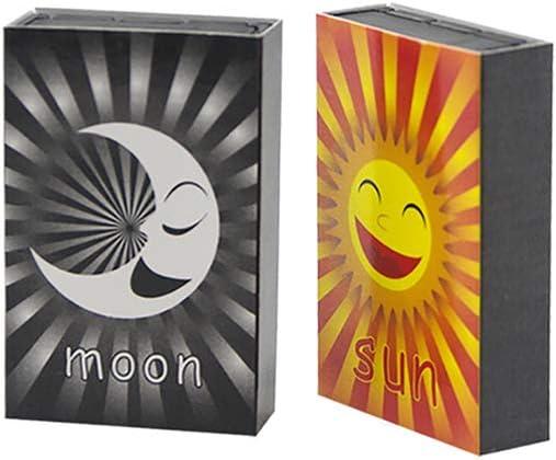 Caja Mágica con el Sol o la Luna Patrón cajas de cerillas Primer ...