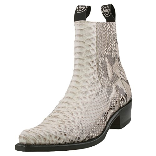 Sendra Bottes, Bottes Blanches Weiß (blanco / Negro)