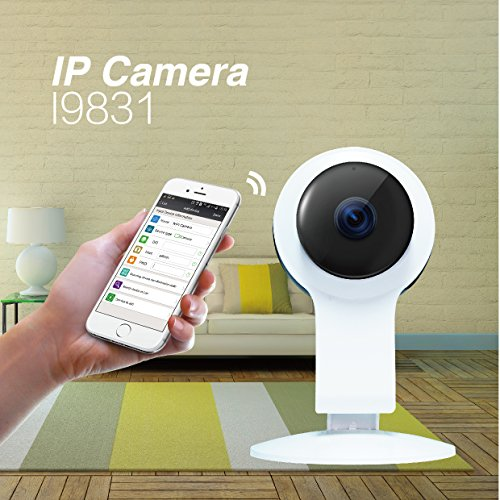 Wireless Wifi IP Security Camera 960P Indoor Home Surveillance System Baby Pet Monitor 2 Way Audio, Day/Night Vision Webcam (2) (Model B) by Kanstar