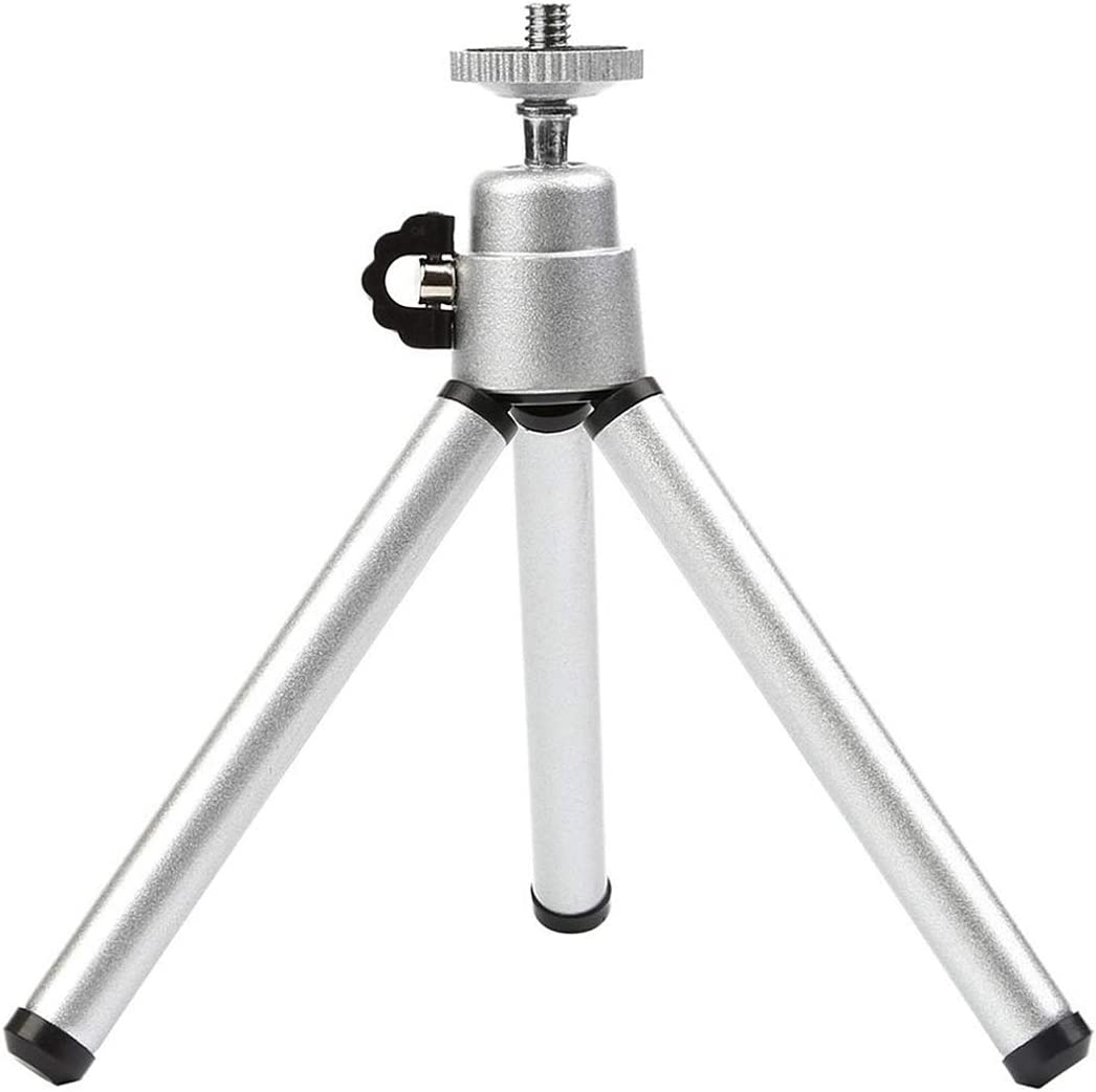 Aceyyk Tripod for Camera Mini Aluminum Telescopic Mini Camera Tripod Stand Holder Monopod W//1//4 Screw Interface for Digital Camera Phone Desktop