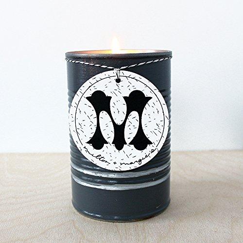 Soy Candle, Vanilla Tobacco in Hematite; 15 oz. ()