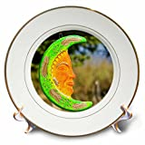 3dRose cp_86836_1 Mexico, Sinaloa State, Concordia. Mexican Pottery - SA13 WBI0266 - Walter Bibikow - Porcelain Plate, 8-Inch