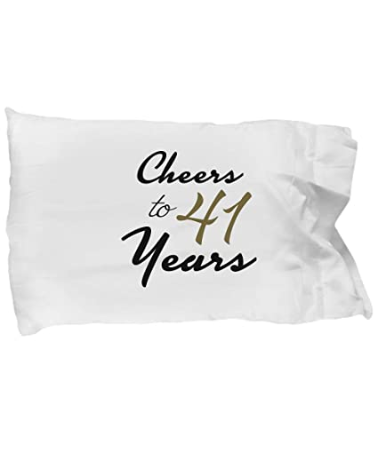 Amazon DesiDD 41st Birthday Pillowcase