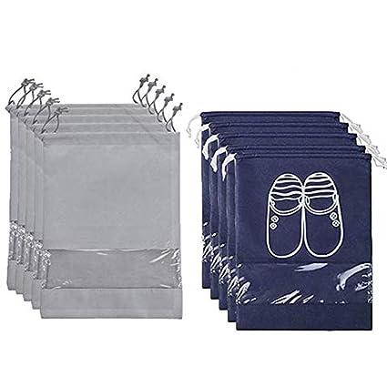 Nuluxi Portátil Ventana Transparente Bolsa de Zapatos ...