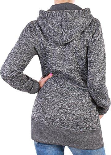 Black Denim - Chaqueta - para mujer gris claro