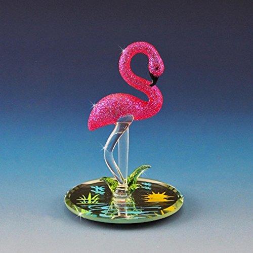 (Handmade Glass Flamingo)